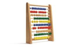 Spielzeug-Rechenmaschine Stockbilder