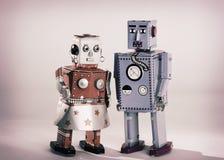 Spielzeug-Roboter stockbilder