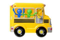 Spielzeug-Schulbus Stockfoto