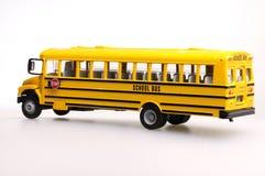 Spielzeug-Schulbus Lizenzfreie Stockbilder