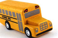 Spielzeug-Schulbus Lizenzfreie Stockfotos