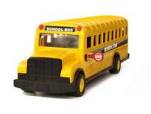 Spielzeug-Schulbus Lizenzfreies Stockfoto
