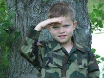 Spielzeug-Soldat 3 Stockfoto
