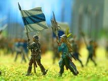 Spielzeug-Soldaten Stockfoto