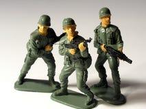 Spielzeug-Soldaten lizenzfreies stockbild