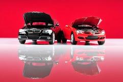 Spielzeug-Sportautos Stockfotos