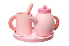 Spielzeug-Tee-Set Stockfotos