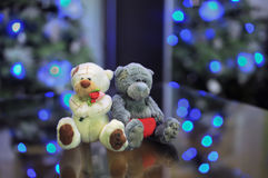 Spielzeug trägt Paare in der Liebe Stockfotos