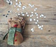 Spielzeug- und Weihnachtssterne Stockbild