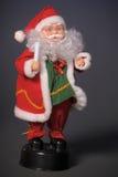 Spielzeugabbildung von Weihnachtsmann Lizenzfreie Stockbilder