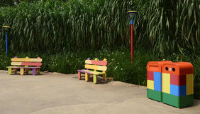 Spielzeuganlage Stockfoto