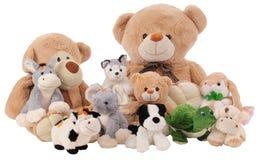 Spielzeugansammlung. Lizenzfreies Stockfoto
