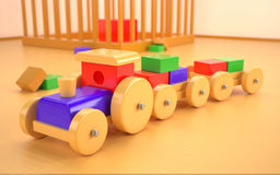 Spielzeugauto Lizenzfreies Stockfoto