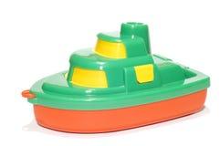 Spielzeugboot lizenzfreies stockfoto
