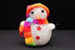 Spielzeugdekorations-Schneemannandenken Stockfotografie
