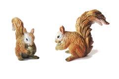 Spielzeugeichhörnchen stockfoto