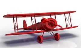 Spielzeugflugzeug Stockfoto