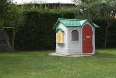 Spielzeughaus Stockfotos