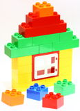 Spielzeughaus stockbilder