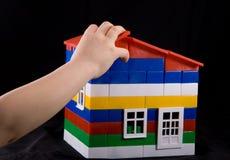 Spielzeughaus Stockfotografie