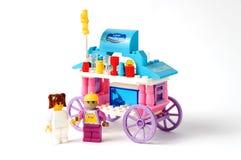Spielzeughausmodell an Lizenzfreie Stockbilder