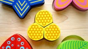 Spielzeugholz Lizenzfreie Stockbilder
