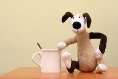 Spielzeughund Stockbild