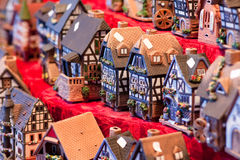 Spielzeughäuser Stockfotografie