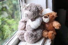 Spielzeugkrankheitshilfe Lizenzfreie Stockfotos