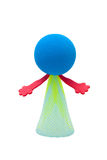 Spielzeuglächeln Stockbild