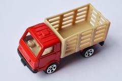 Spielzeuglastwagen des Kindes Lizenzfreie Stockfotografie