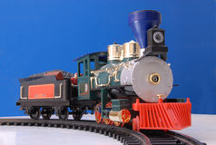 Spielzeuglokomotive Stockbild