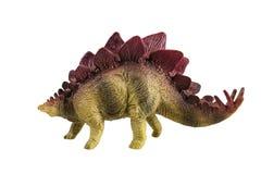Spielzeugmodell eines Dinosauriers lizenzfreies stockbild