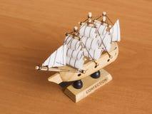 Spielzeugschiff Stockbild