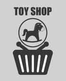 Spielzeugshopdesign Lizenzfreies Stockfoto