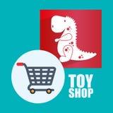 Spielzeugshopdesign Stockfotografie