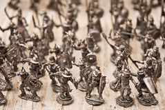 Spielzeugsoldaten stockbild