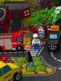 Spielzeugstadt Lizenzfreies Stockfoto