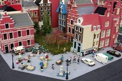 Spielzeugstadt Stockfotografie