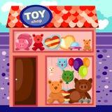 Spielzeugsystem lizenzfreie abbildung