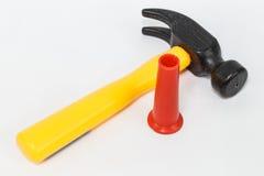 Spielzeugwerkzeug der Kinder Stockfotos