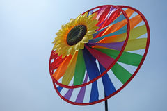 Spielzeugwindmühle Stockfotografie