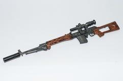 Spielzeugzahl Gewehr Modell svd Stockbild