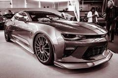 Spierauto de generatie van Chevrolet Camaro SS zesde, 2016 Royalty-vrije Stock Foto