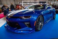 Spierauto de generatie van Chevrolet Camaro SS zesde, 2016 Royalty-vrije Stock Afbeelding
