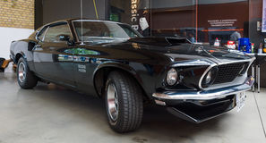 Spierauto Ford Mustang Boss 429 Fastback Stock Afbeeldingen