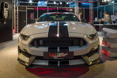 Spierauto Ford Mustang Shelby GT 350, 2016 Royalty-vrije Stock Afbeelding