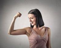 spieren royalty-vrije stock afbeelding