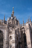 Spiers of the Duomo in Milan, Italy Royalty Free Stock Images