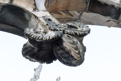 Spiers Mediolańska katedra, Włochy Zdjęcie Stock